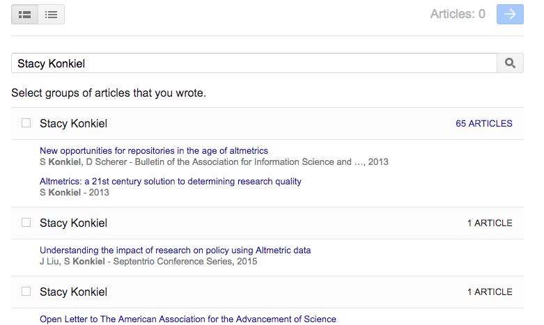 como agrega publicaciones a google academico