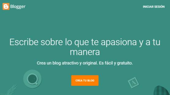 crea tu blog en blogger - WIN Internet