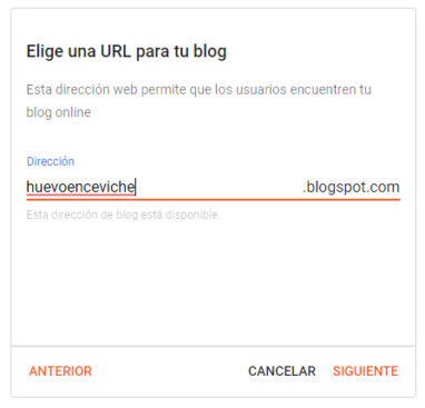 elige url del blog2 - WIN Internet