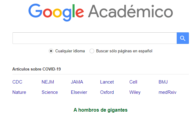 google academico - WIN Internet