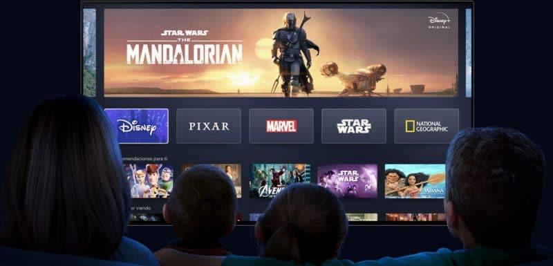 Disney Plus llega al Smart TV de los Peruanos en Noviembre