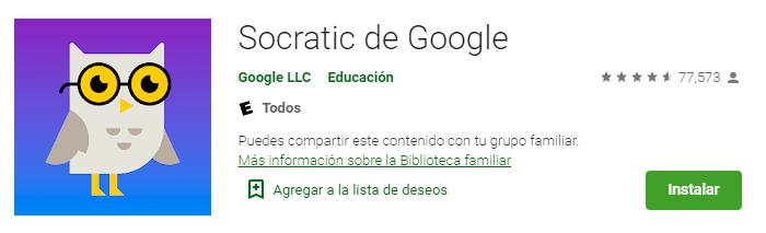 Socratic de Google